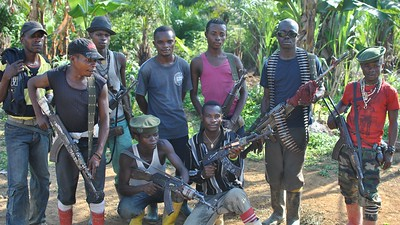 a group of armed men in the Democratic Republic of Congo