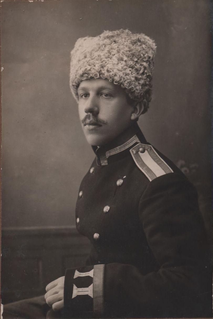 Юнкер Иркутского военного училища