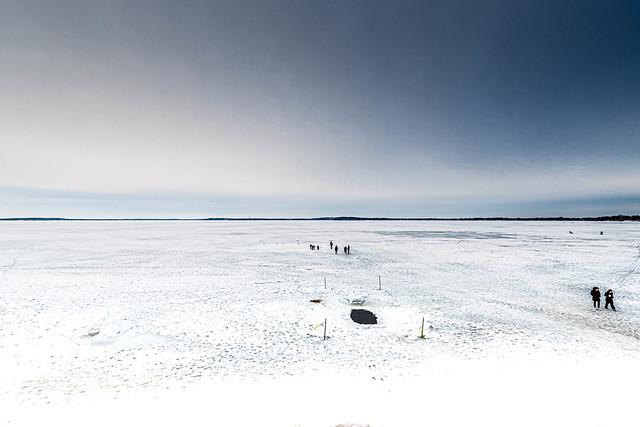 Lake Mendota winter