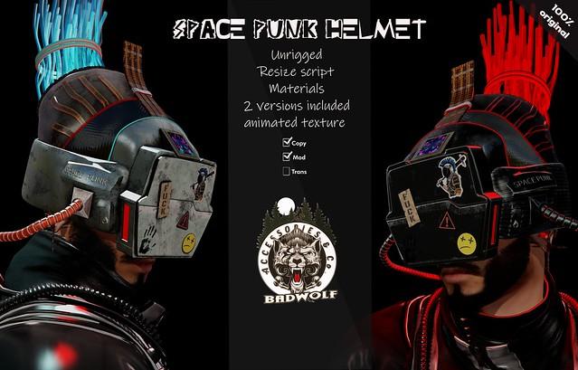 Space Punk Helmet @ Cyberfair