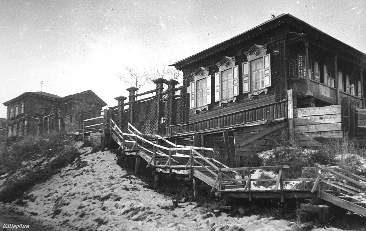 1975. Дома по улице Грязнова