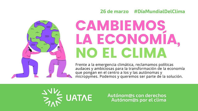 Autonomos con derechos Autonomos por el clima