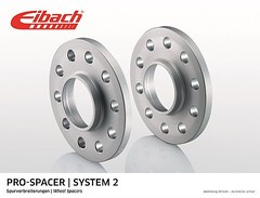 Track widening Spacer 16 mm for Smart ForTwo 453 models 32 mm per axel