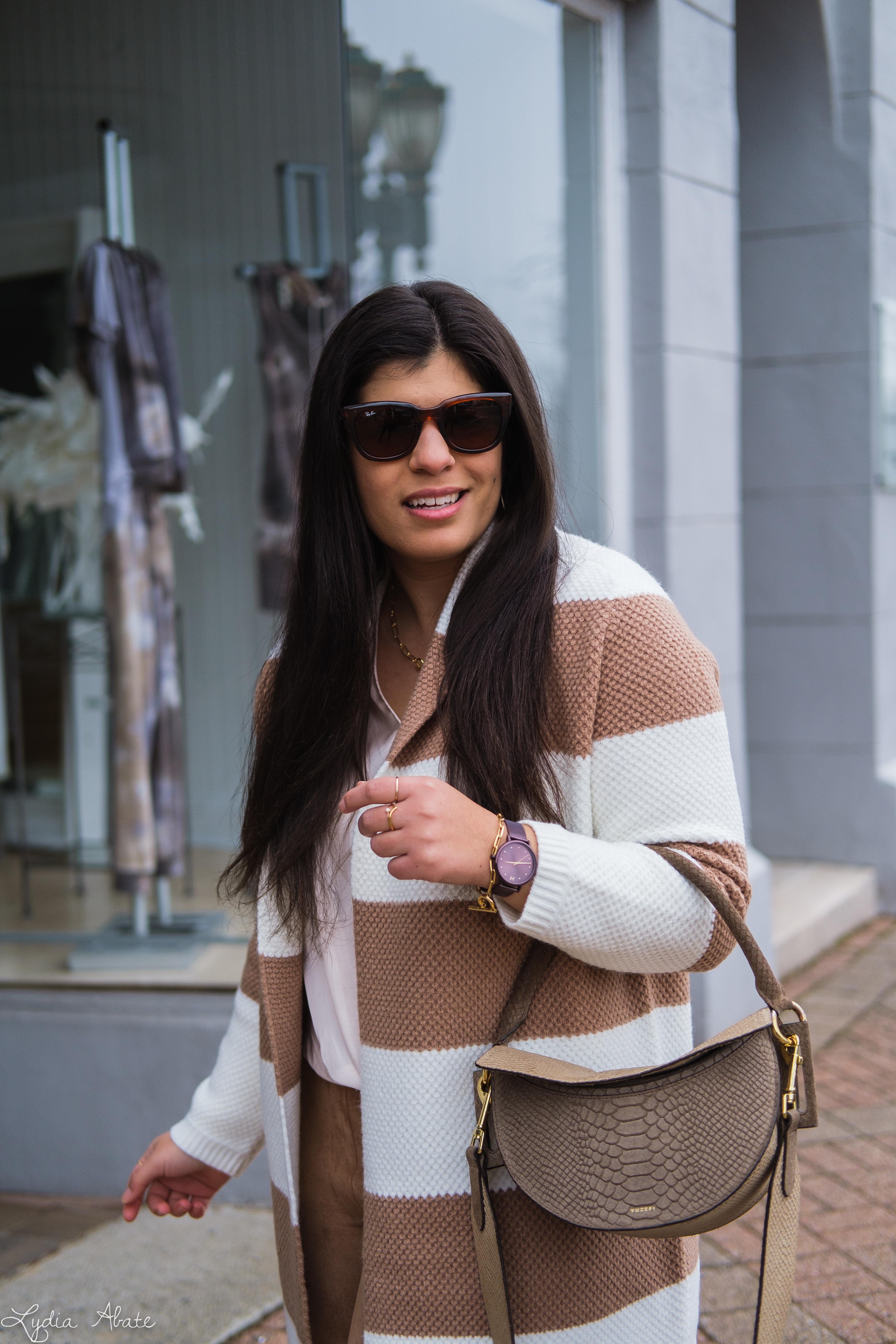 camel striped cardigan, suede leggings, leather sneakers, yuzefi dip, MVMT-10.jpg