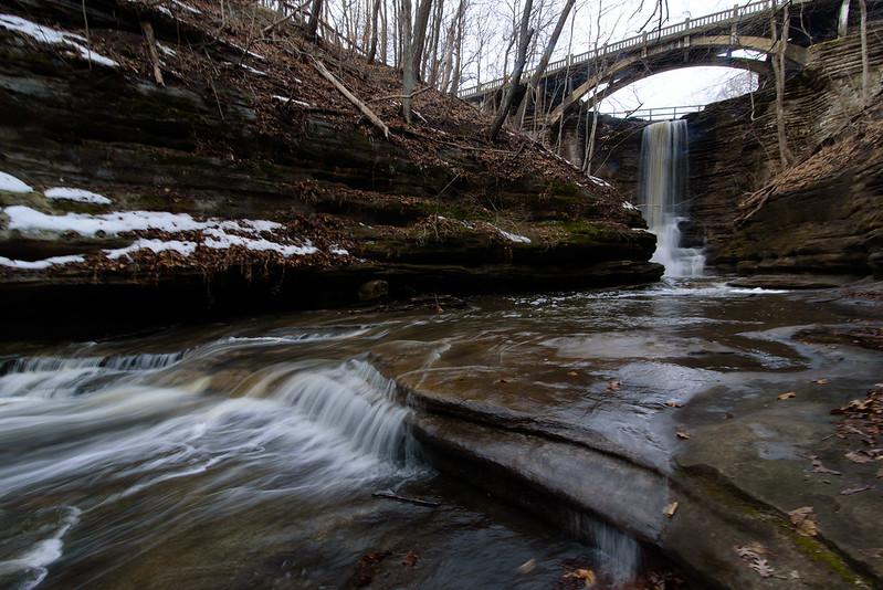 Upper Dells Waterfalls