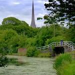 Canal scene at Preston