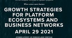 """The European Workshop on Software Ecosystems is a great meeting of minds to discuss the impact of software ecosystems on business today. "" - Sangeet Paul Choudary, CEO of Platformation Labs and Co-author of Platform Revolution. #software #isv #ewseco www"