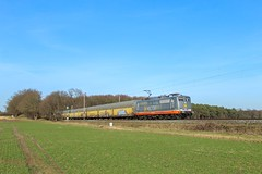 Hectorrail 151 003 (162 008) mit Hccrrs in Poggenhagen