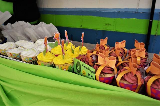 Cupcakes Made by Green Thumb Bakery (Vegan)