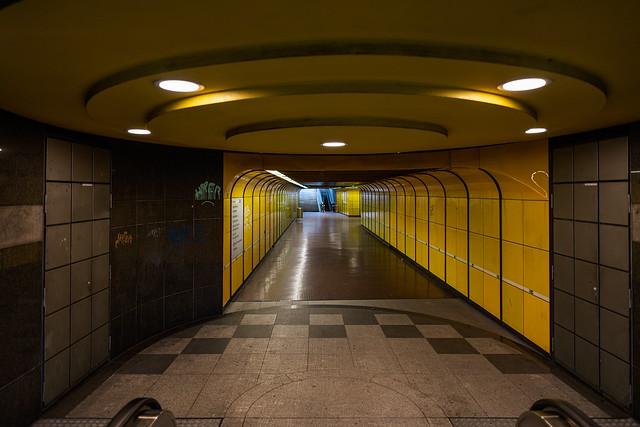 lonely subway passage III