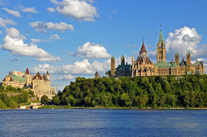 Chateau Laurier Hotel and Ottawa