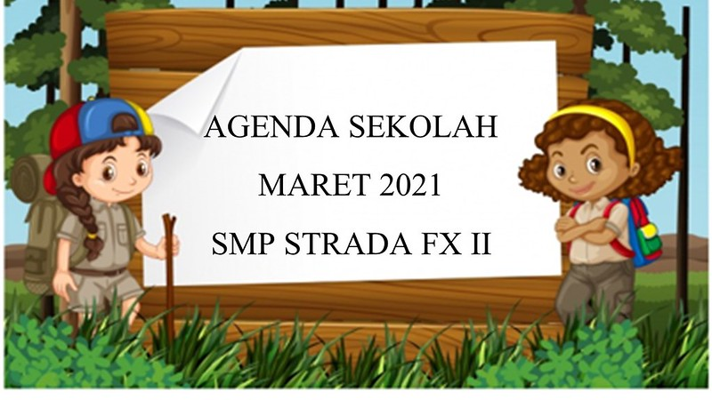 AGENDA SEKOLAH BULAN MARET 2021