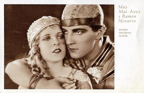 Ramon Novarro and May McAvoy in Ben-Hur (1925)