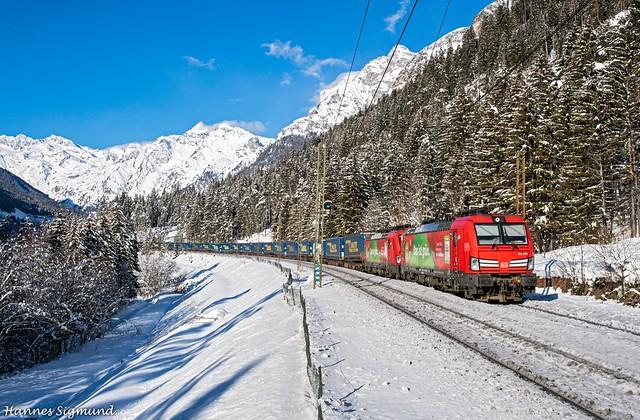193.300 + 193.310 Mercitaliarail / DB Cargo - Pflersch