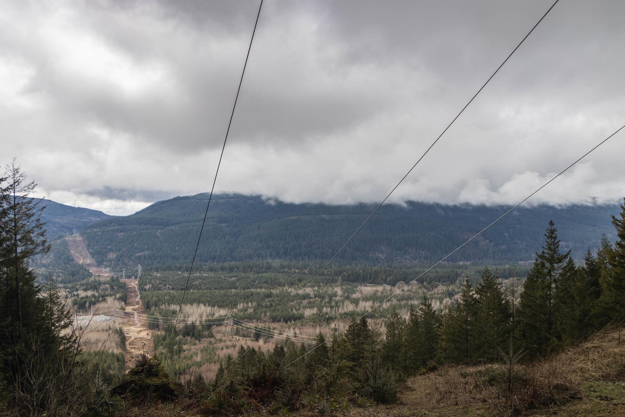 En route to Rattlesnake Mountain Northwest Peak