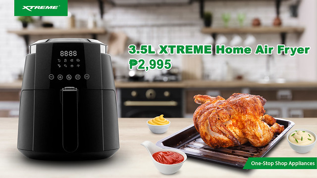 3.5L XTREME HOME AIR FRYER(3)