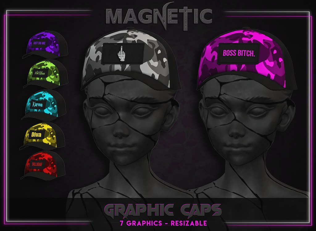 Magnetic – Women's Graphic Caps