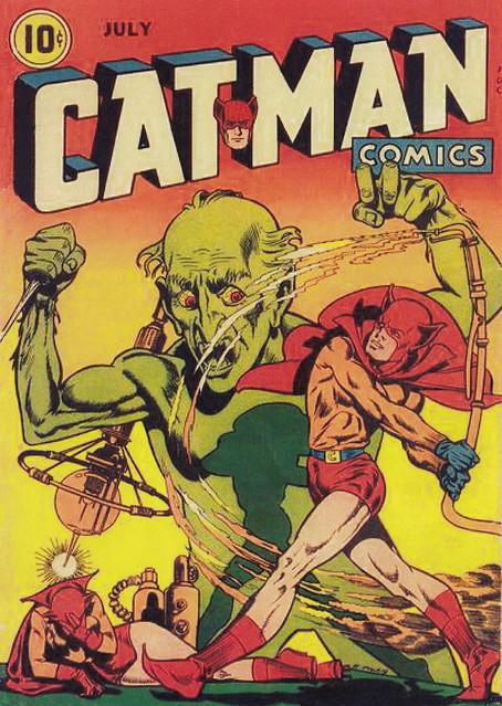 Cat-Man Comics #25