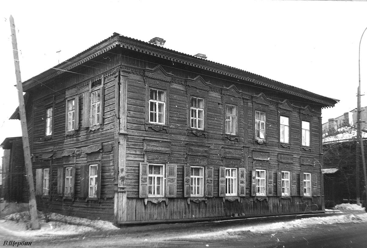 1975.  Дом №25А по улице Декабрьских событий