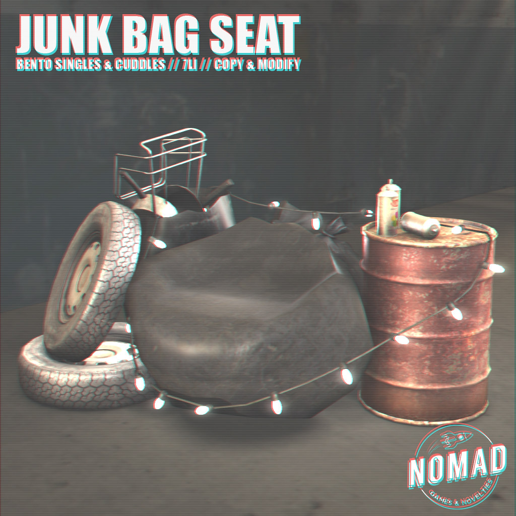 NOMAD // Junk Bag Seat @ FLF