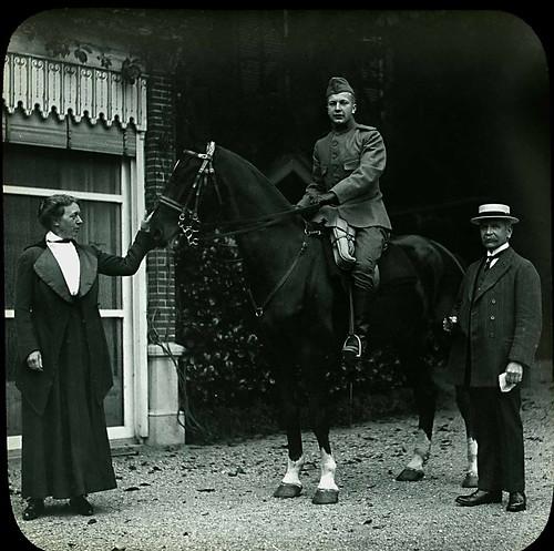 John de Goeijen te paard
