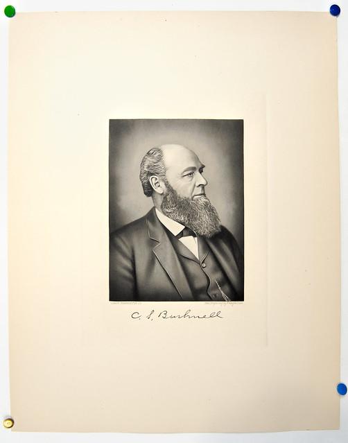 Cornelius S. Bushnell engraving