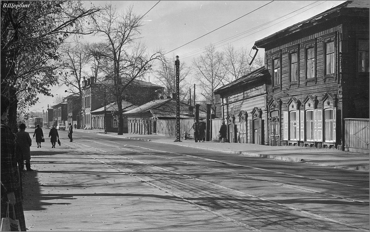 1975. Улица Тимирязева