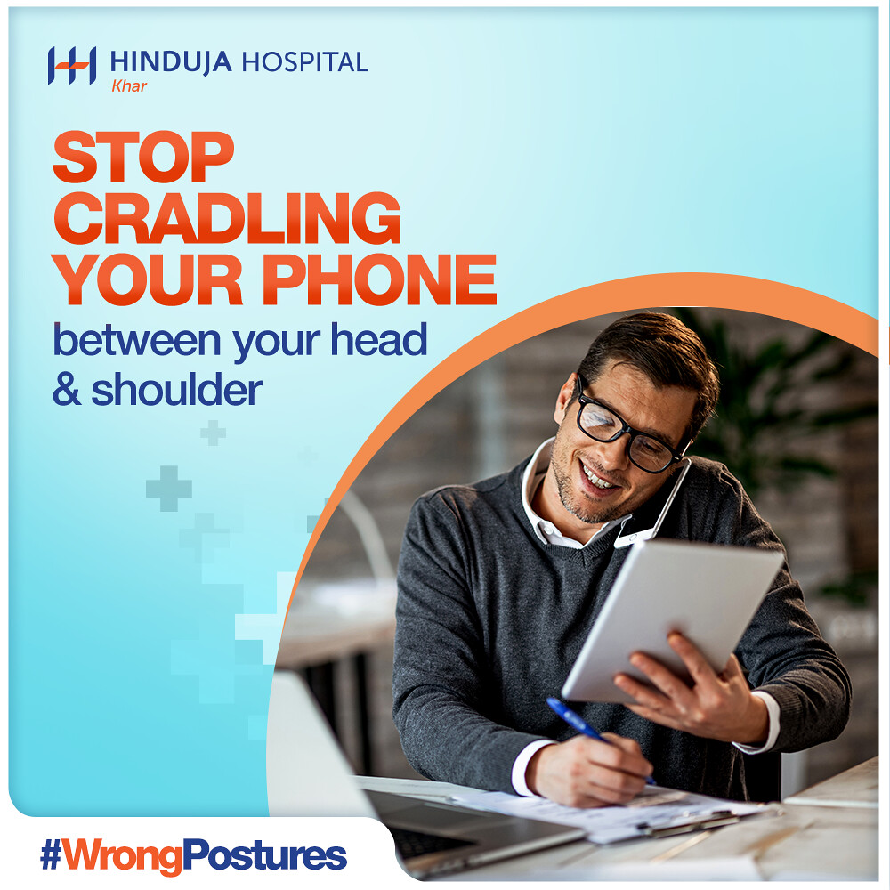 Stop cradling your phone between your head & shoulder