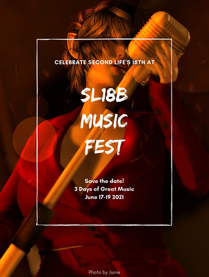Second Life's 18th Birthday Music Fest - Sign Up for Auditions!