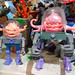 Super7 ReACTION Figures :: TEENAGE MUTANT NINJA TURTLES ; 'KRANG' v .. with original KRANG 1989 (( 2020 ))