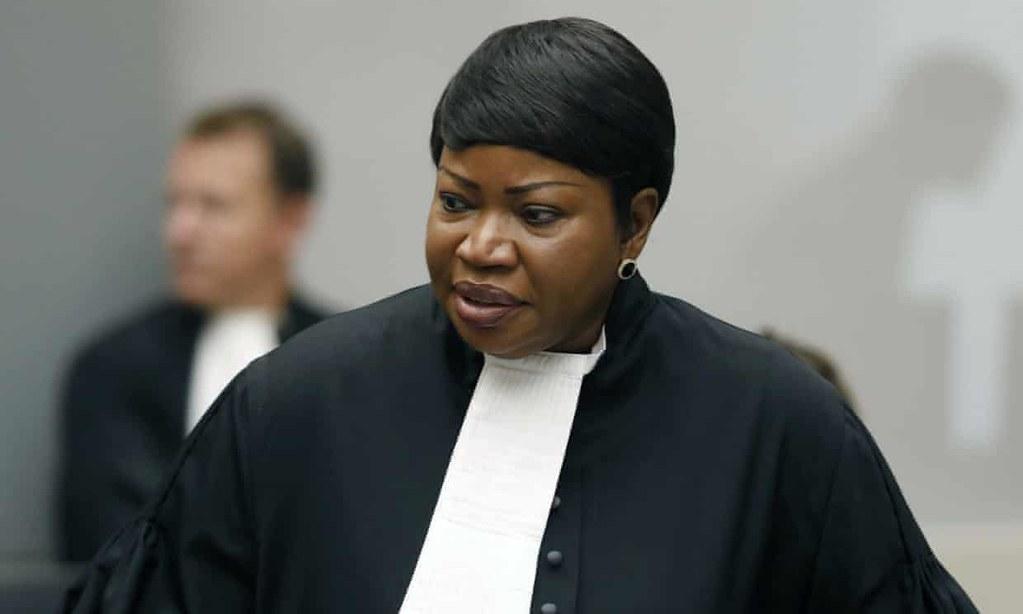 國際刑事法庭檢察長本索達宣布將調查巴勒斯坦領土上的戰爭罪行。(圖片來源:Bas Czerwinski/AP)