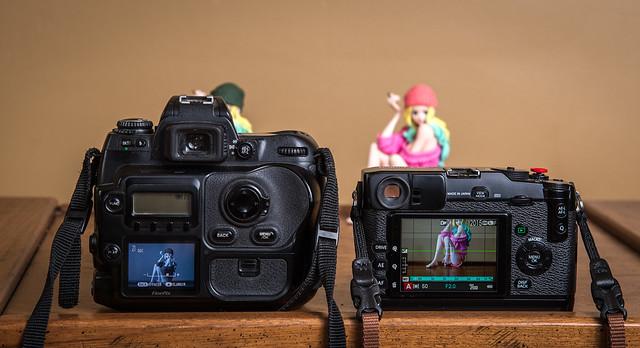 FinePix S3 Pro (2004) / Fujifilm X-Pro1 (2012)