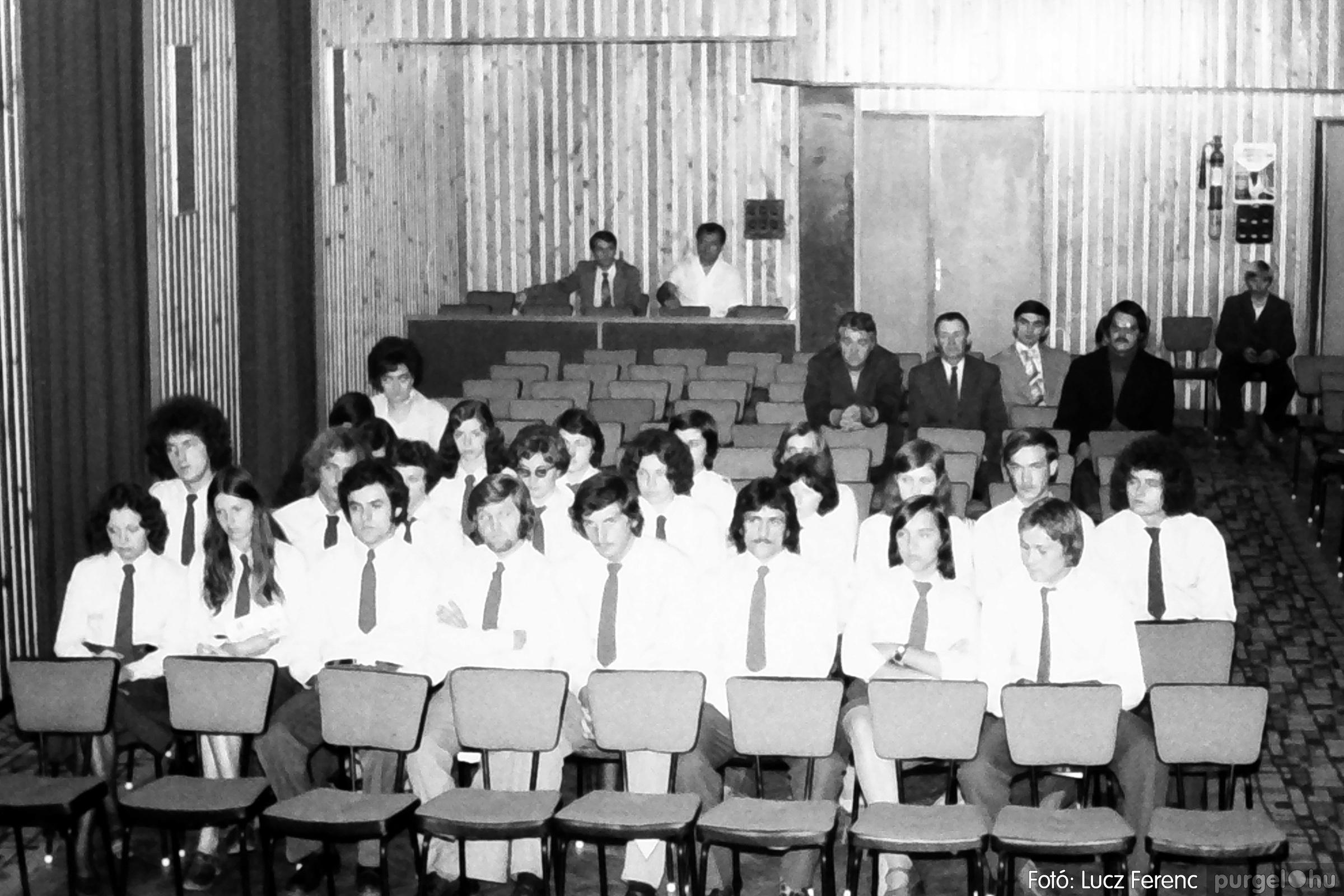053. 1976. Ünnepi ülés 015. - Fotó: Lucz Ferenc.jpg