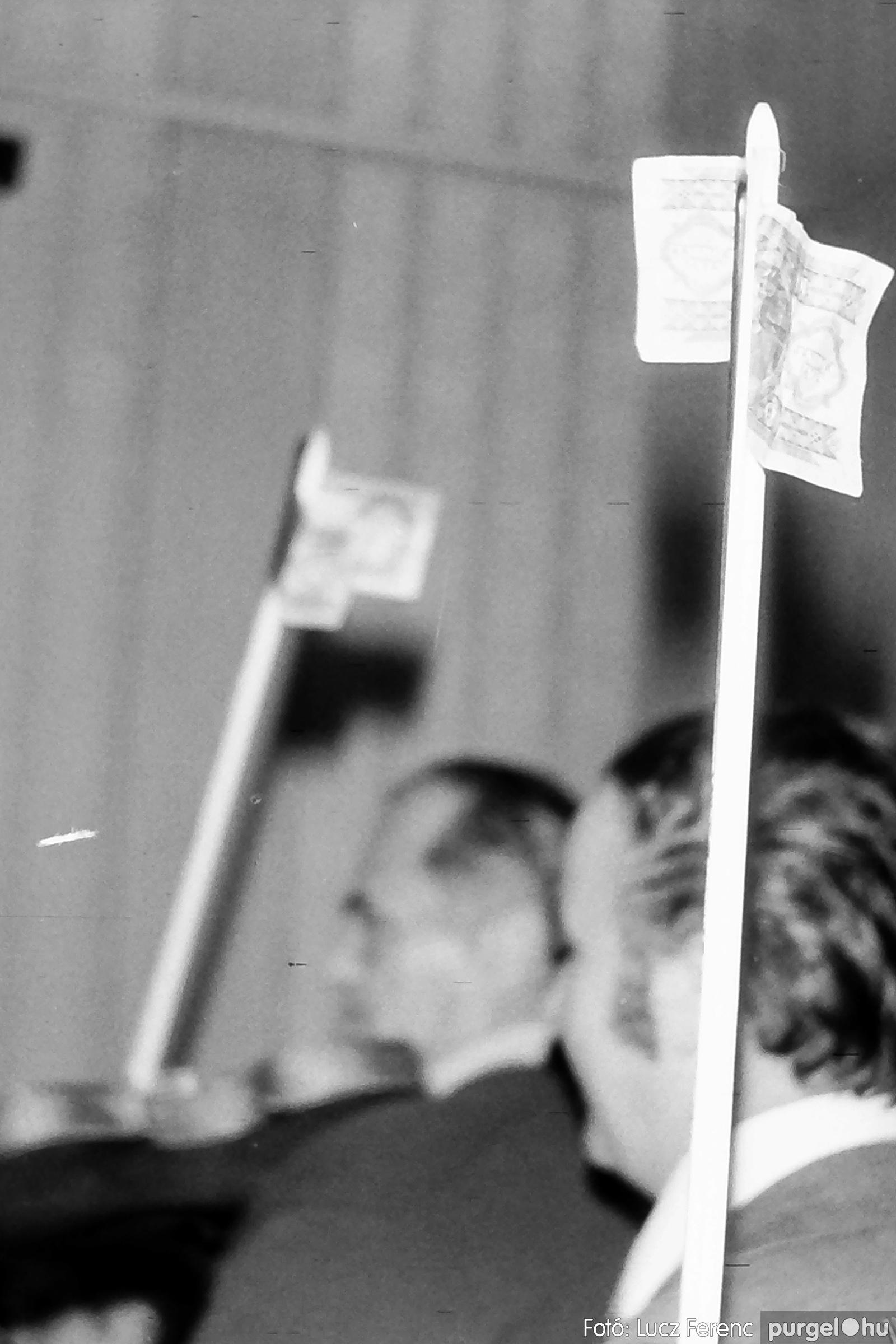 064-065. 1976. KTSZ-es dínomdánom a vendéglőben 033. - Fotó: Lucz Ferenc.jpg