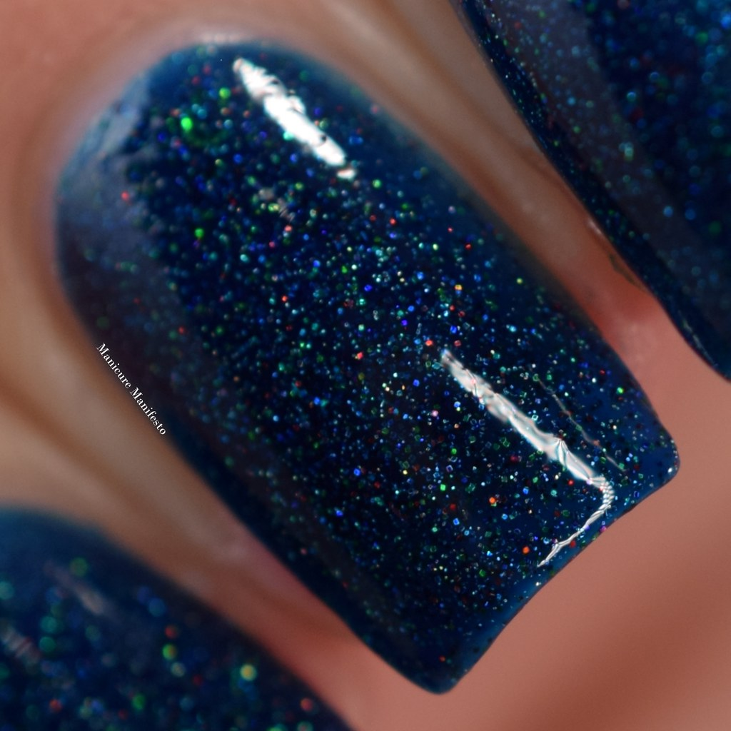 Blue Eyed Girl Lacquer Bound To The City Life review