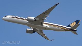 Singapore Airlines A350-941 msn 469 F-WZFX / 9V-SHU