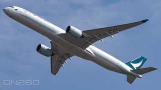 Cathay Pacific A350-1041 msn 434 B-LXO