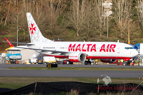 8003 65874 9H-VUA 737-8 200 Malta Air | by 737 MAX Production