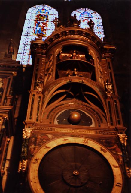 Straßburg 1987 (08) Astronomische Uhr, Straßburger Münster