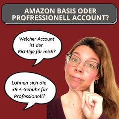 Amazon Basis- oder Professionell Konto