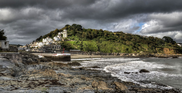 The coast at Looe, Cornwall