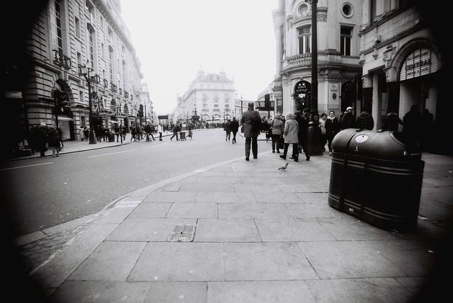 London - Scatto senza guardare