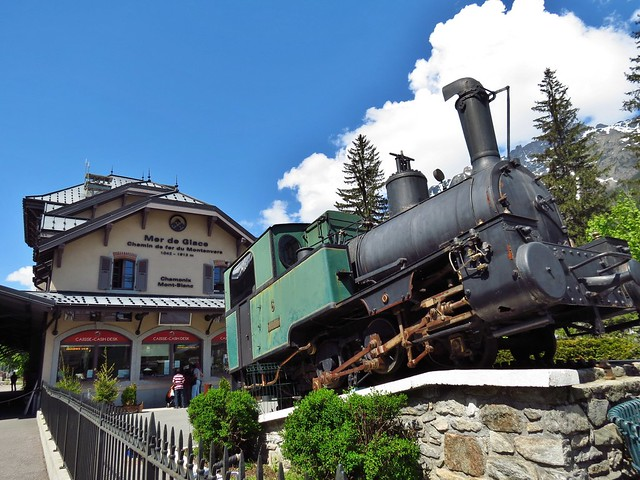 Montenvers-Mer de Glace Train Ride, Chamonix, France
