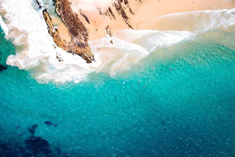 Exploring the beautiful beaches in gold coast Australia