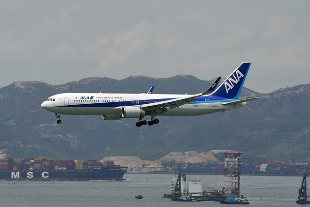 All Nippon Airways (ANA) Boeing 767-381(ER)(WL) JA627A