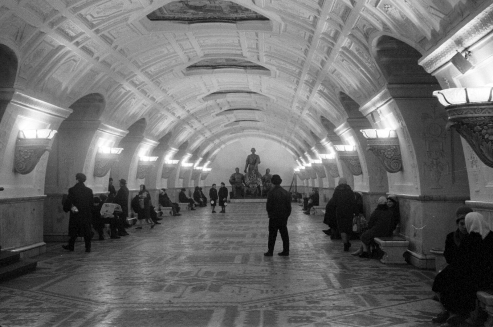 25. Станция метро «Белорусская»