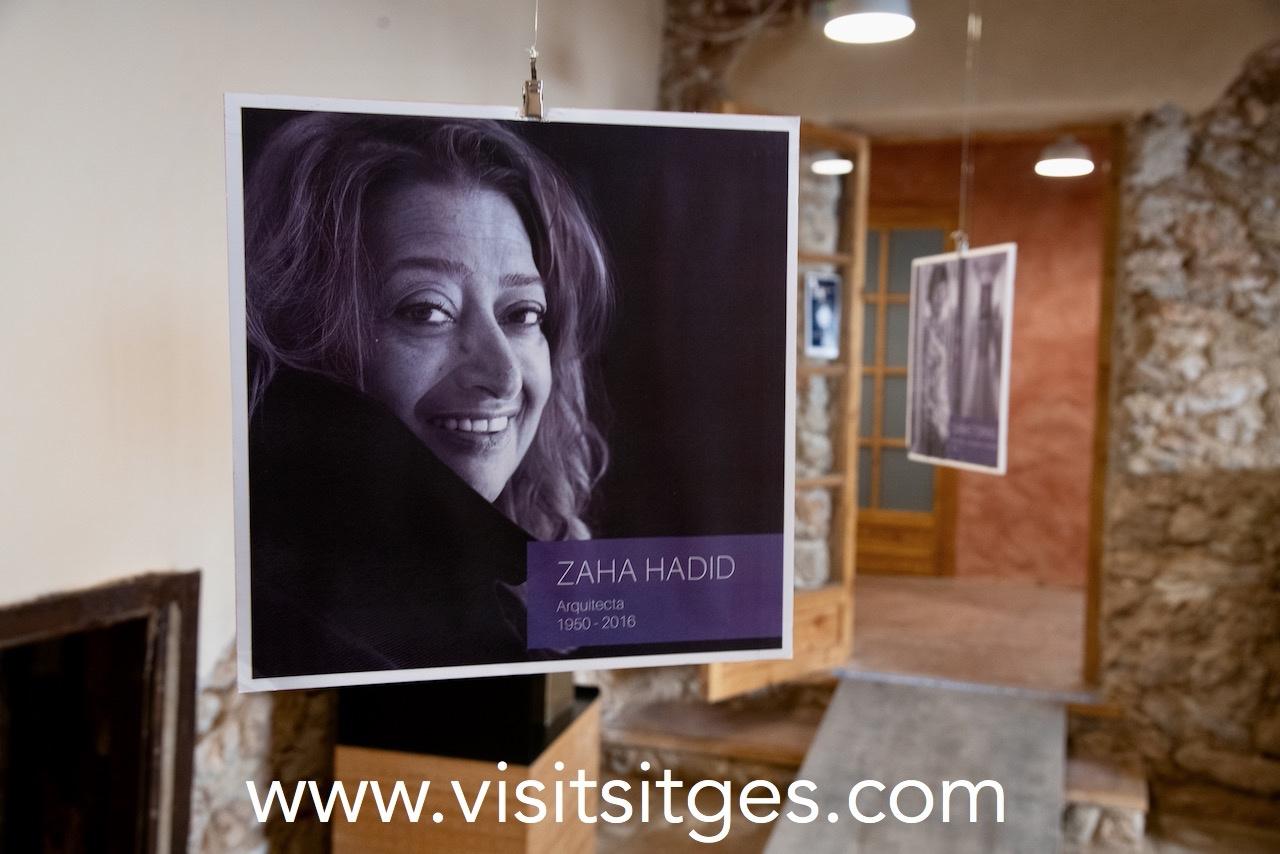 Exposició Dones Científiques 8M Sitges 2021