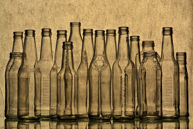 Colorless Glass Bottles (Explore 2021/03/27)