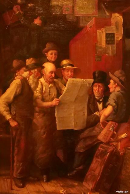 Twenty Thousand Majority, cira 1883/84, George Henry Story, 1835-1923