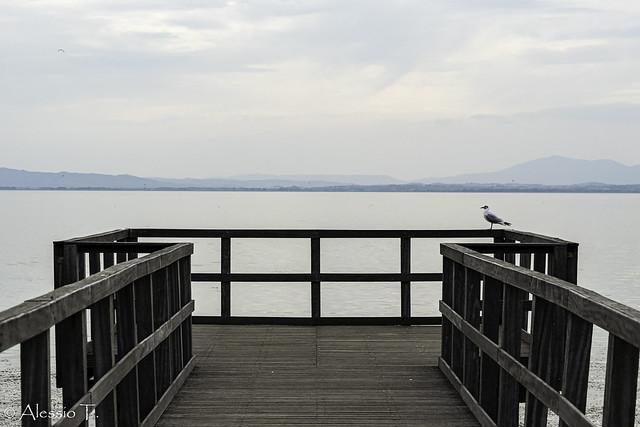 Sul lago Trasimeno